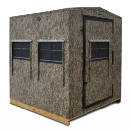 Shadow Hunter Blinds: Marksman Series MM66U: 6×6 Universal (Square w/7 Horizontal Windows)